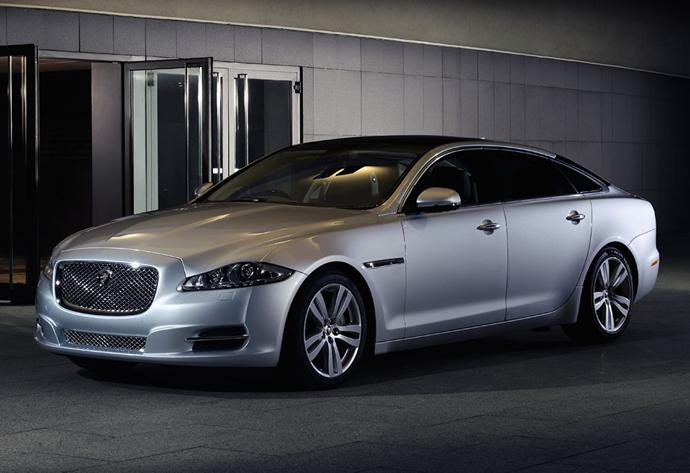 Jaguar reveals the 2014 XJ