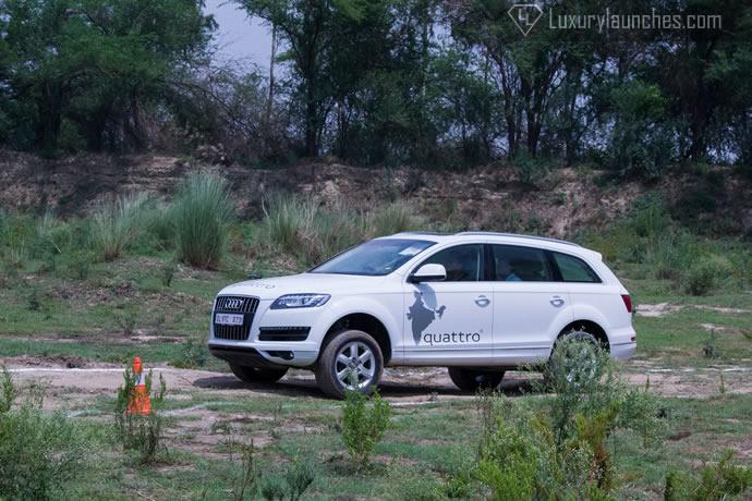 Audi Q-Drive Experience: we put the Audi's Quattro ...