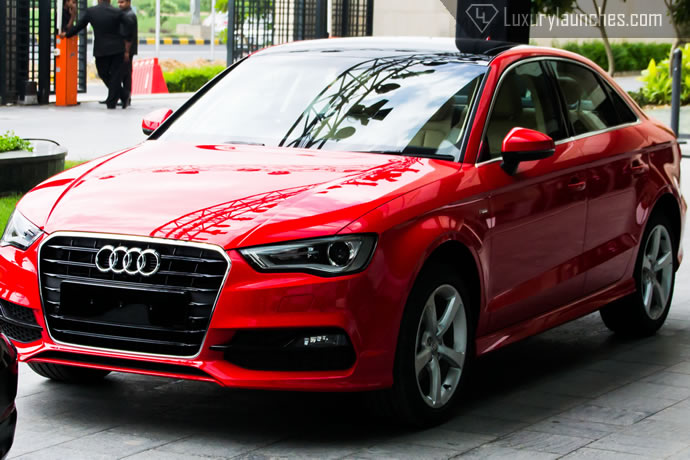 First Impressions Audi A3 Rides In With Class Leading