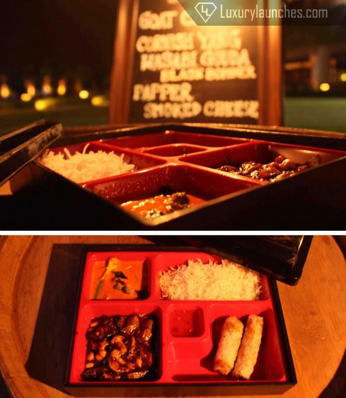 The vegetarian Bento Box