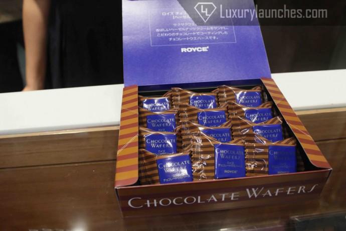 Wafer – Hazelnut Cream & Dark chocolate