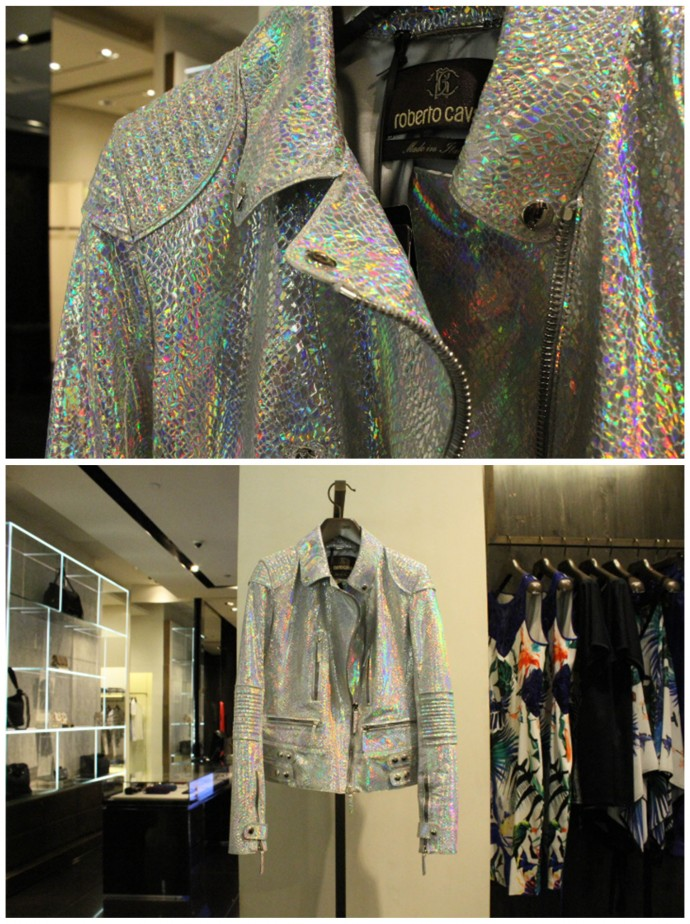 This metallic jacket. Period.