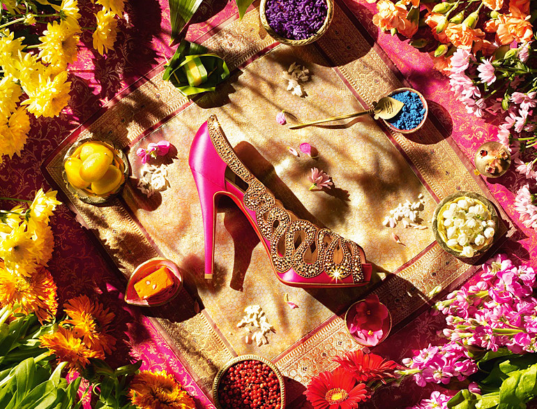 The Wedding Suite by Christian Louboutin puts a luxurious spin on ...