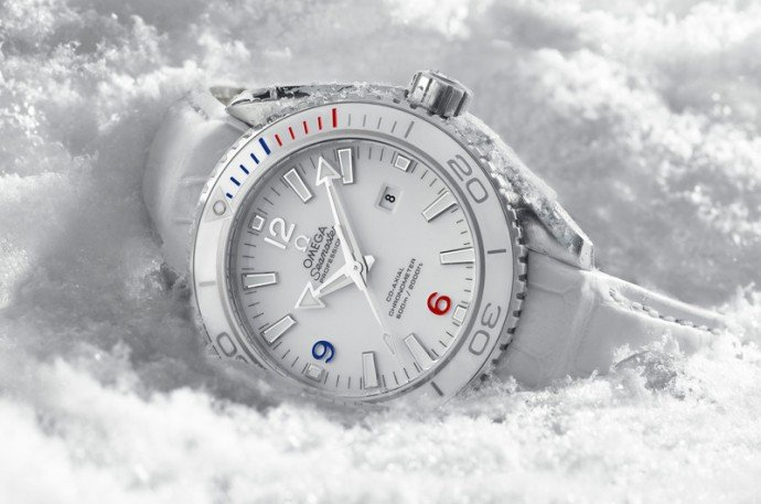 Omega launches distinctive watches for 2014 winter olympics for Winter watches
