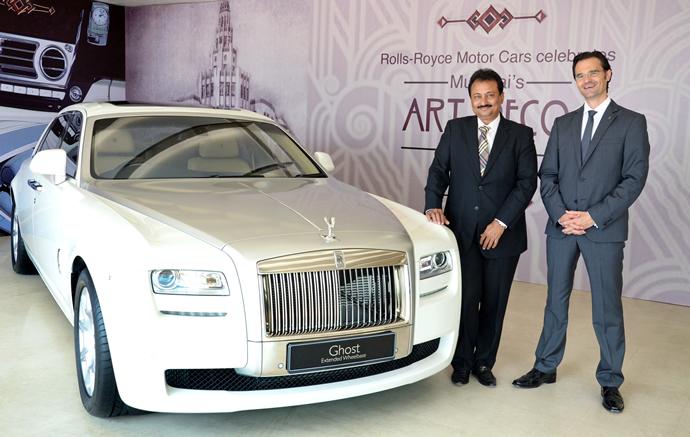 Rolls Royce Opens A Showroom In Ahmedabad