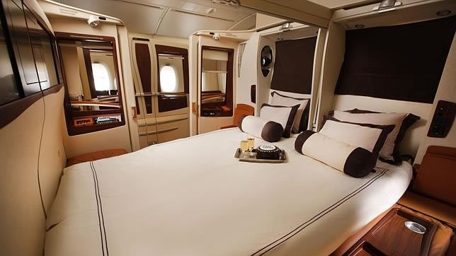 At rs 120 000 from mumbai to singapore here is what it for First class suite airline