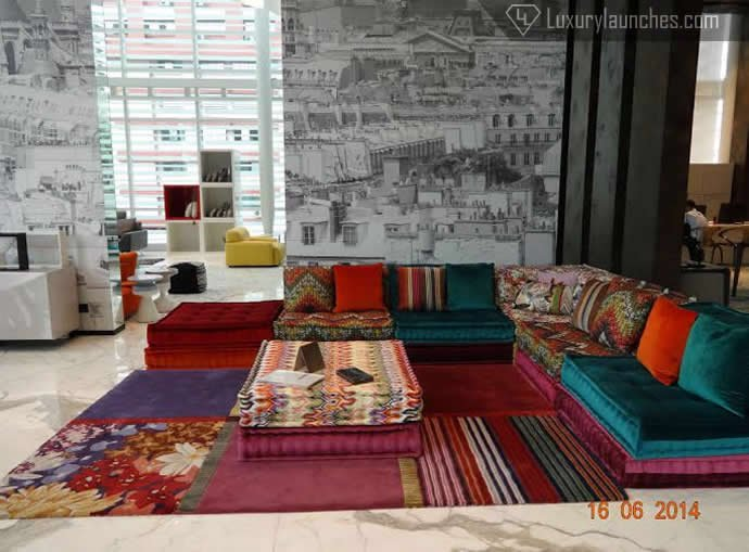 The Usp Missoni Mah Jong Sofa
