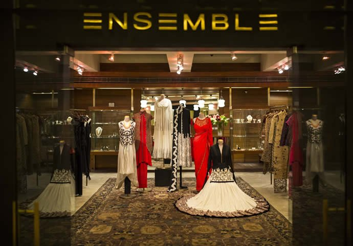Indian Designer Clothes In Mumbai Set up by designer Tarun