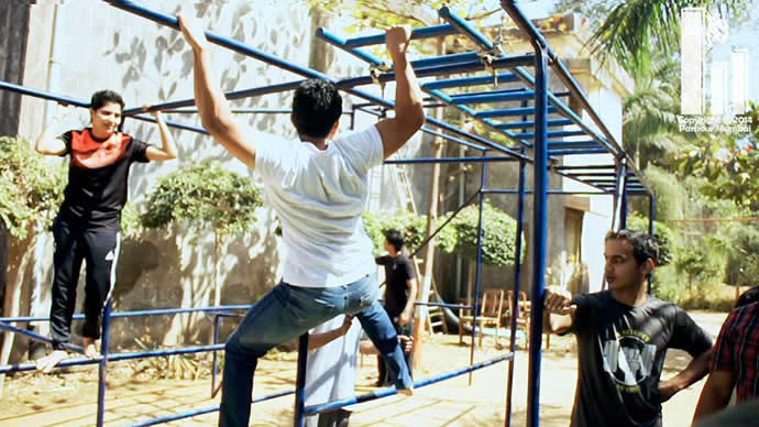 parkour-workout