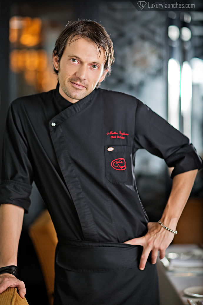 Chef de cuisine, Matteo Boglione
