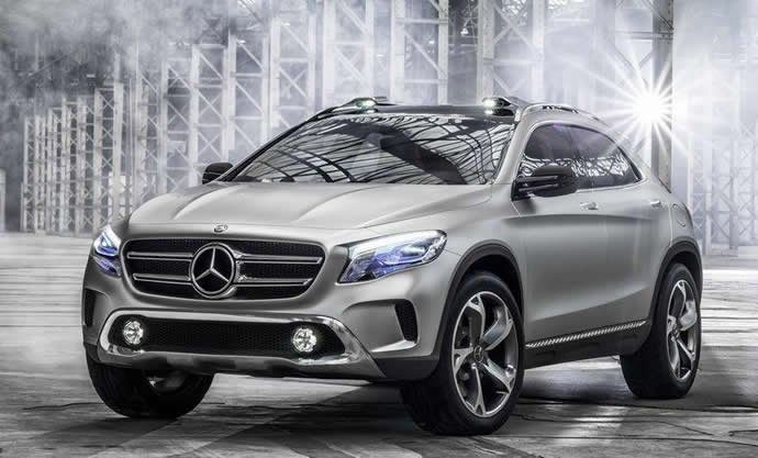 mercedes benz gla class the german carmakers mini crossover the gla is all set to launch in india during the festive season the gla crossover is based