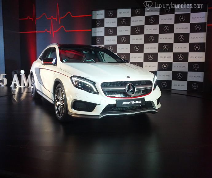 Mercedes GLA 45 AMG Launched In India At Rs 69.6 Lakh