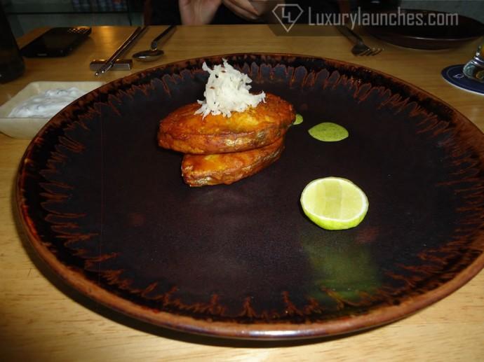 Gaad pakory - fish fritters
