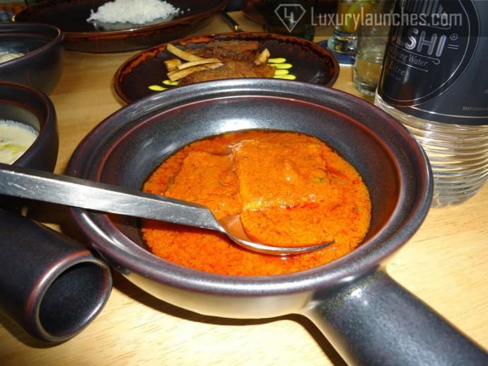Tamatar Tschaman - paneer in tomato gravy
