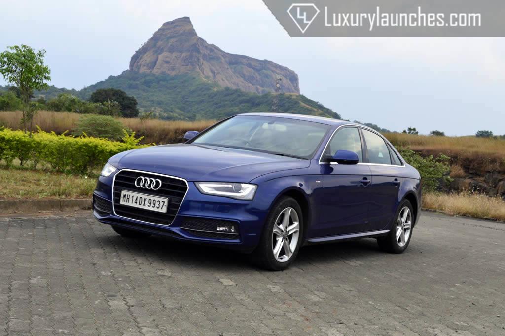 Audi a4 2013 Blue 2013 Audi a4 2 0 Tdi a Solid
