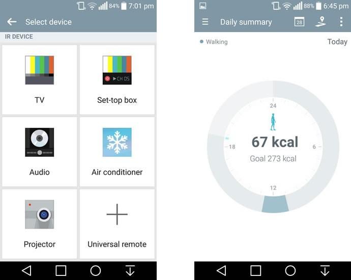 IR Remote and Health App