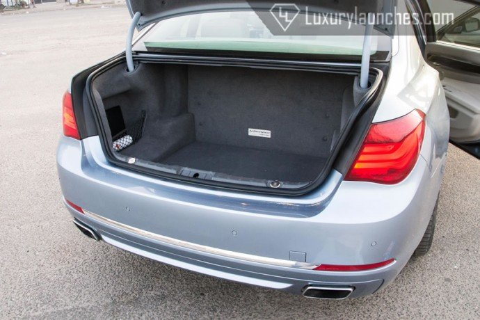 Due to the battery pack placed behind the rear seat, the boot space is reduced to just 360 liters