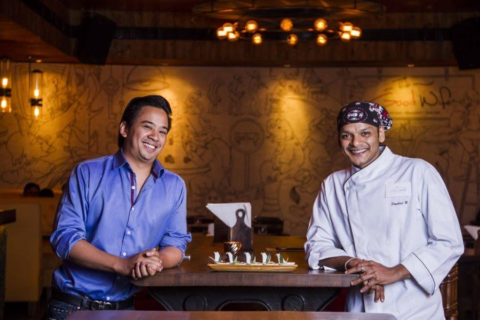 Keenan Tham and Chef Pankaj Bhingarde