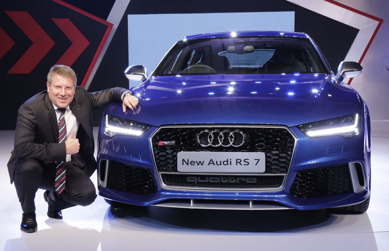 2015 Audi Rs 7 Sportback Comes To India Its Sexy And Yes Blazing Fast