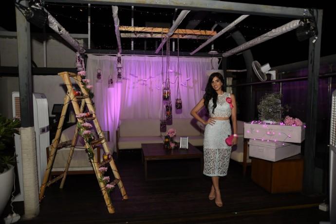 Nishka Lulla in her cabana