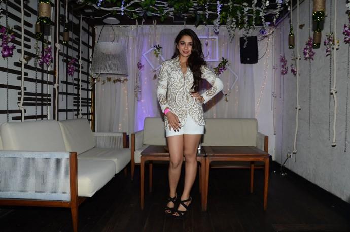 Sonakshi Raaj in her designer cabana