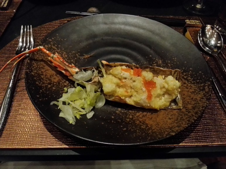 Truffled Lobster Bake: Delicately flavoured and delicious.
