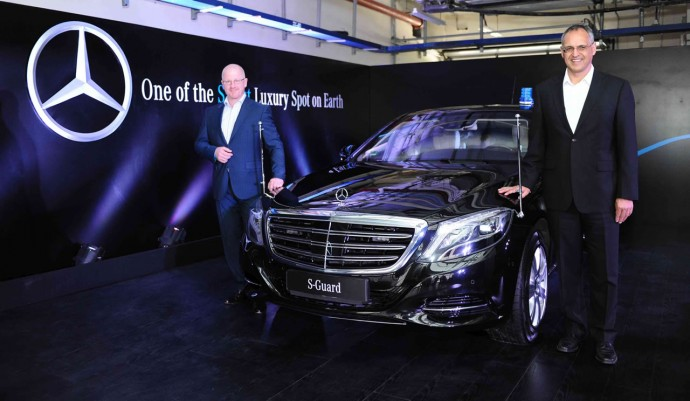 2015 Mercedes-Benz S600 Guard launched in India at Rs 8.9 crore