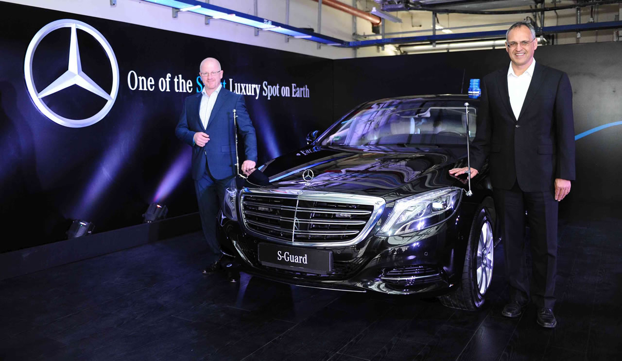 2015 Mercedes-Benz S600 Guard launched in India at Rs 8.9 crore -