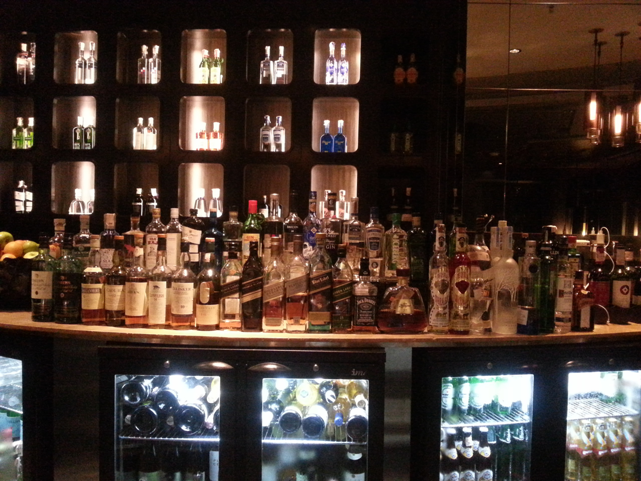 The Arola Bar: A wide array of luxe labels to savour