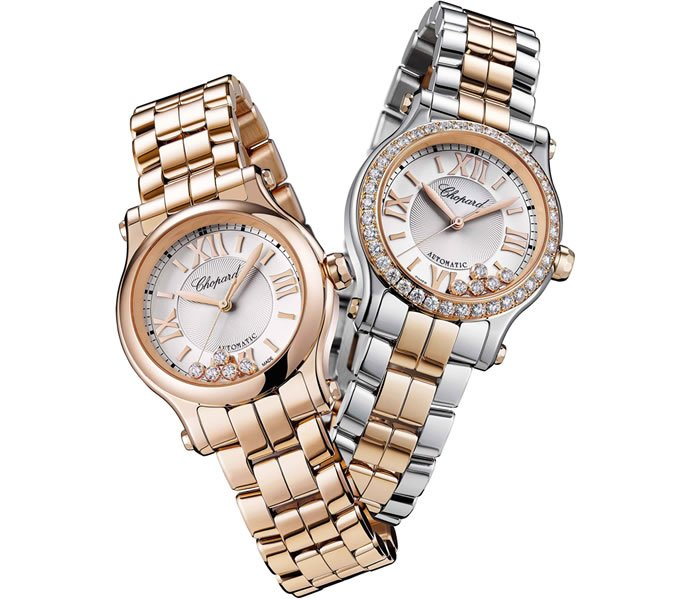 81af0bb833d31 Chopard s Happy Sport 30mm Automatic Watch is luxuriously chic! -