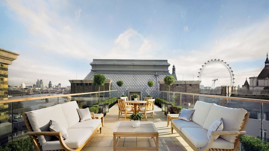 Musicians Penthouse Terrace Corinthia Hotel London
