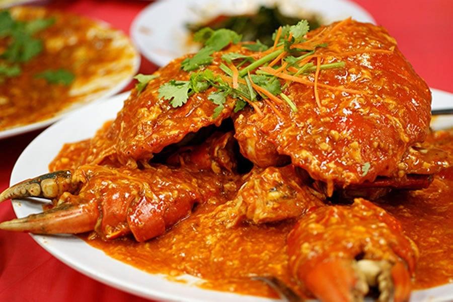 Singapore Chilli Crab 1
