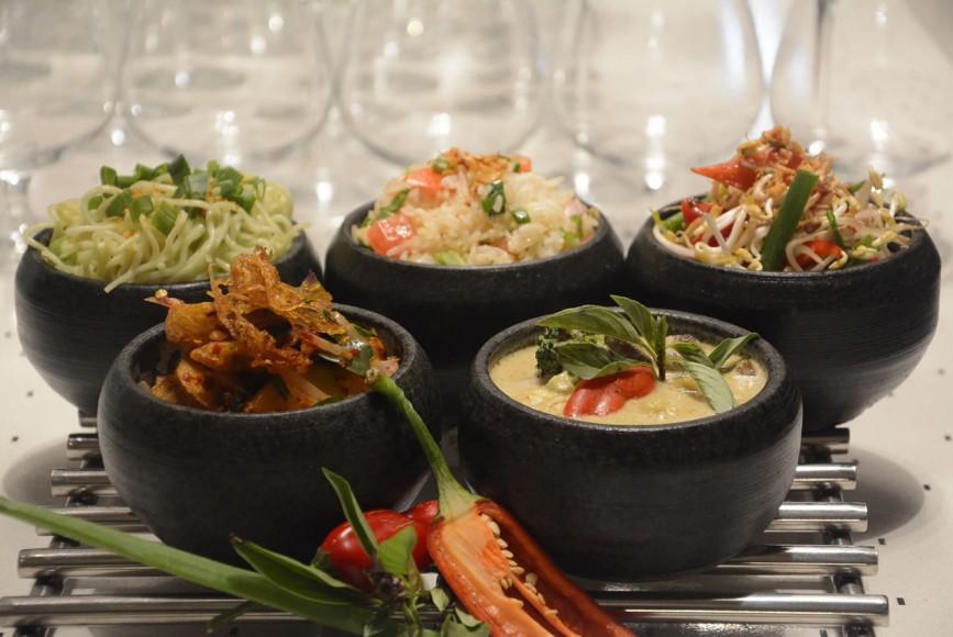 Thai Food Platter