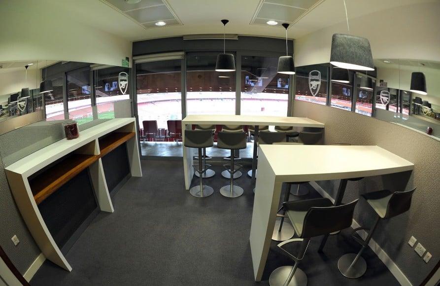 VIP Box in a stadium