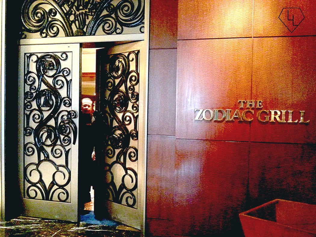 When one door closes, another open. Waiting to see what's cooking at the Taj Mahal Palace Hotel.