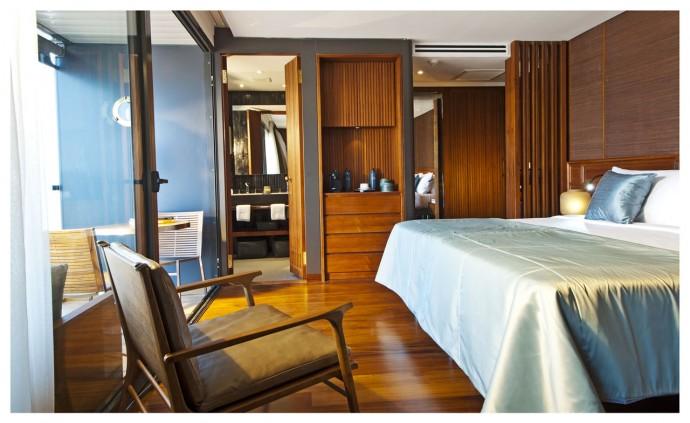 Aqua Mekong Design Suite with Balcony Double Set Up - 2