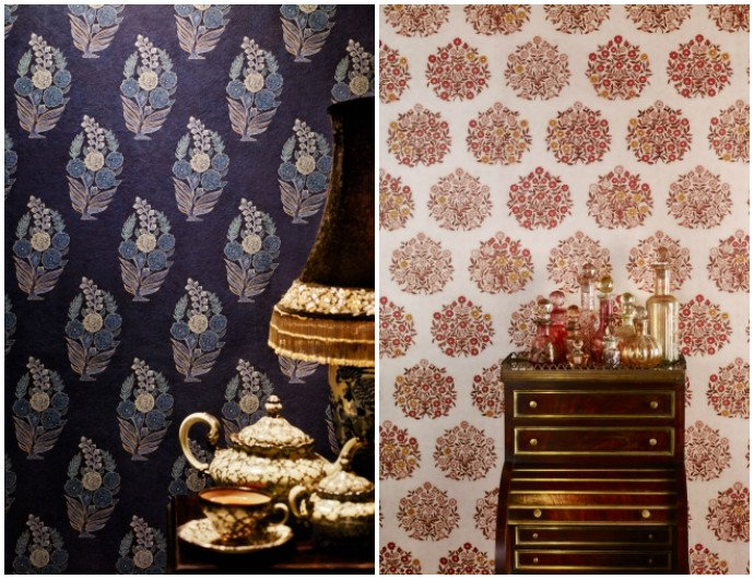 sabyasachi launches a luxurious line of wallpapers with nilaya sabyasachi launches a luxurious line of
