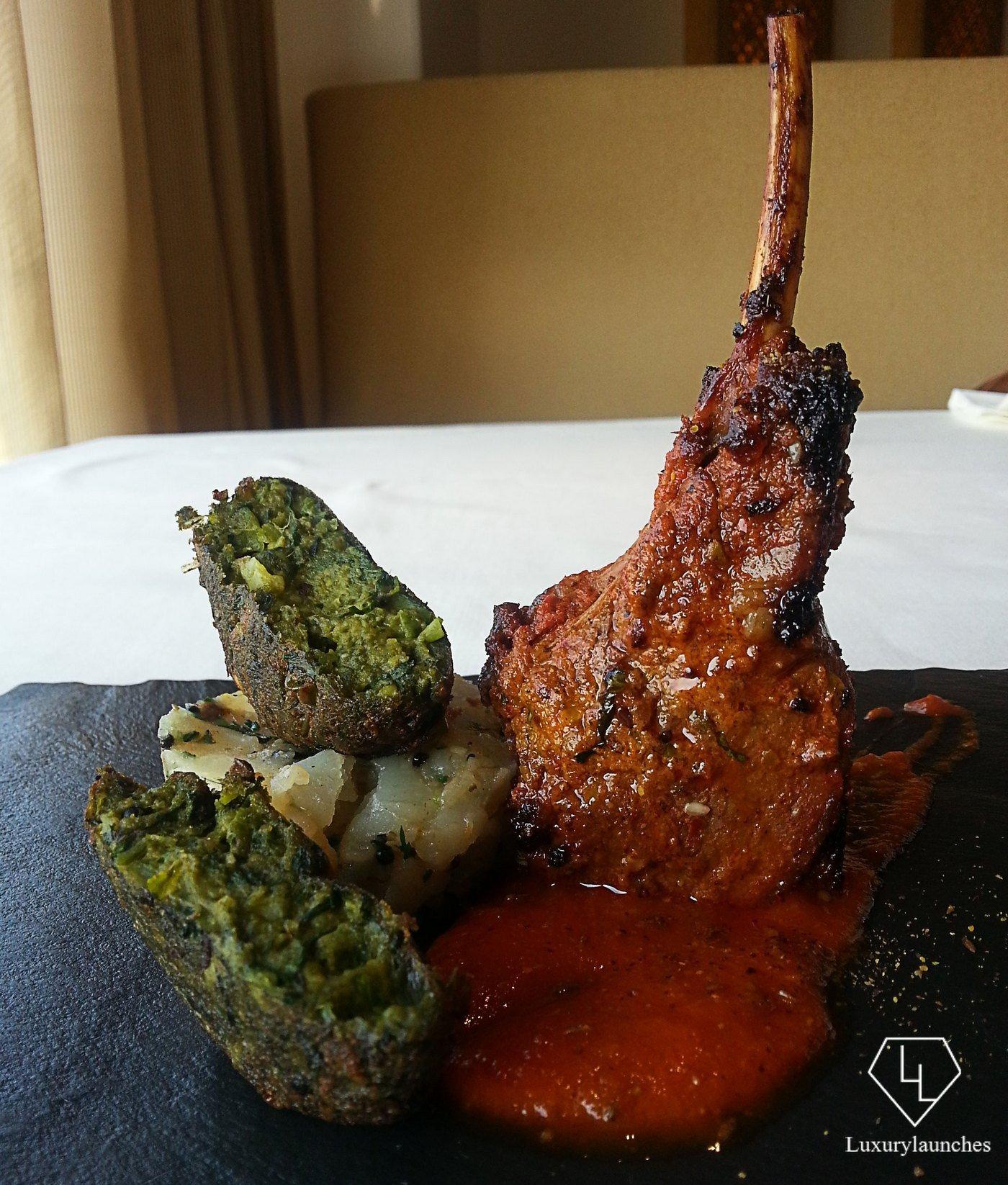 Achaari Tandoori Lamb Chop