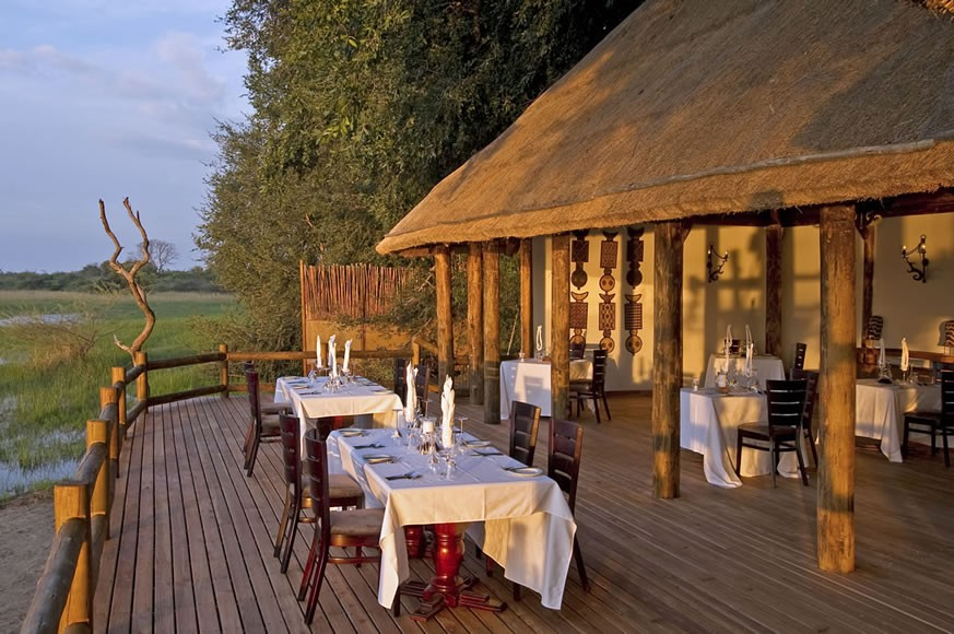 BOTSWANA- Okavango Delta; Sanctuary Chiefs Camp