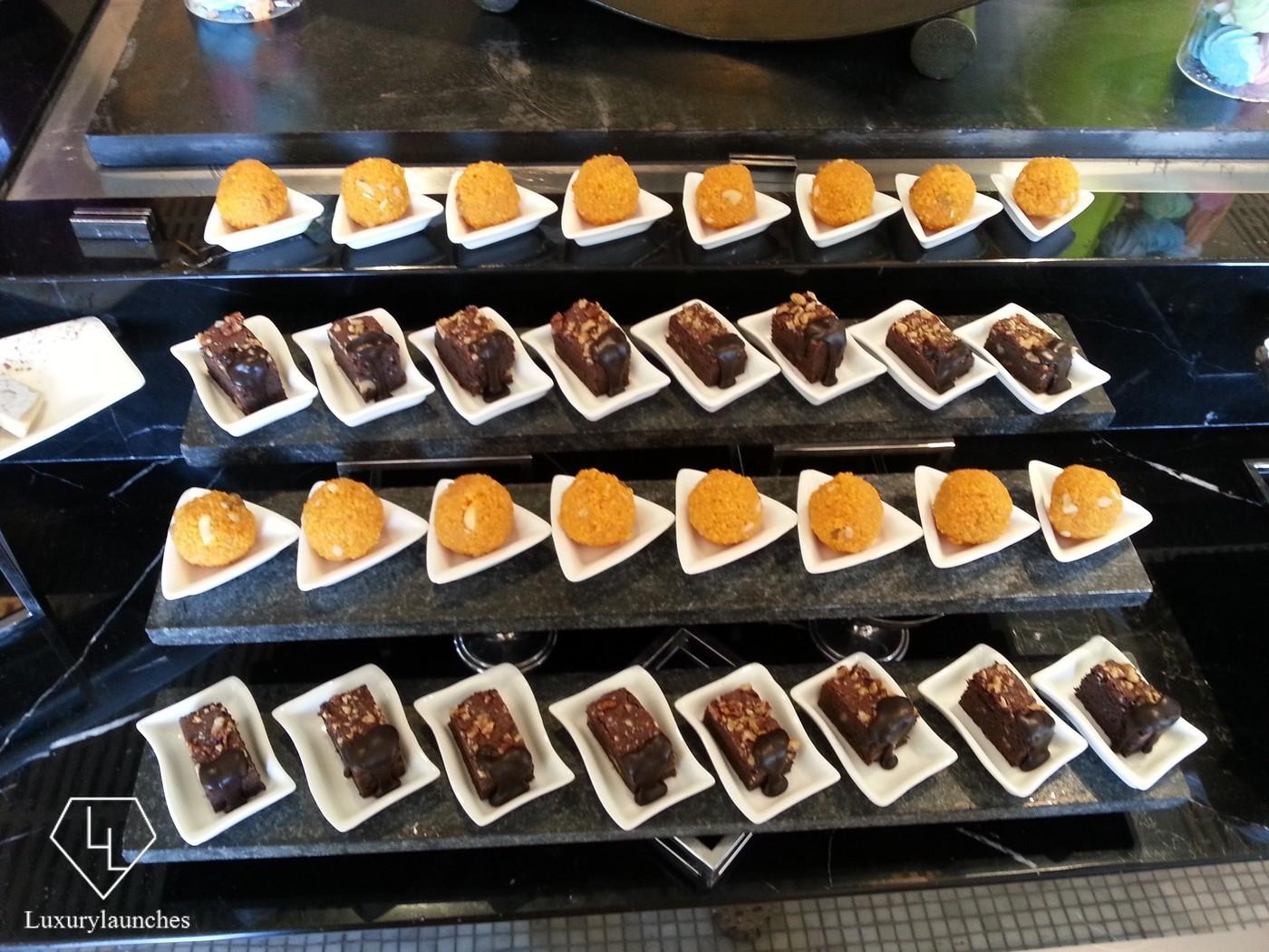 Desserts in the Latest Recipe buffet