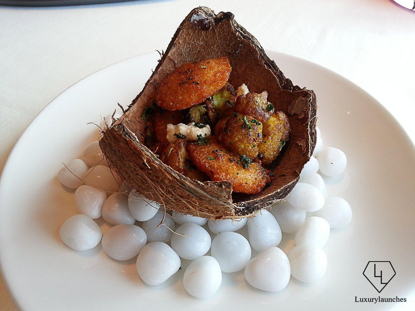Grilled Curry Leaf Gobi