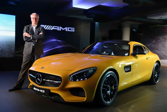 Mr. Roland Folger, MD&CEO, Mercedes-Benz India at the Launch of AMG GT S (1)
