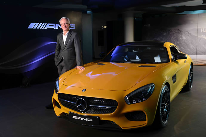 Mr. Roland Folger, MD&CEO, Mercedes-Benz India at the Launch of AMG GT S (2)