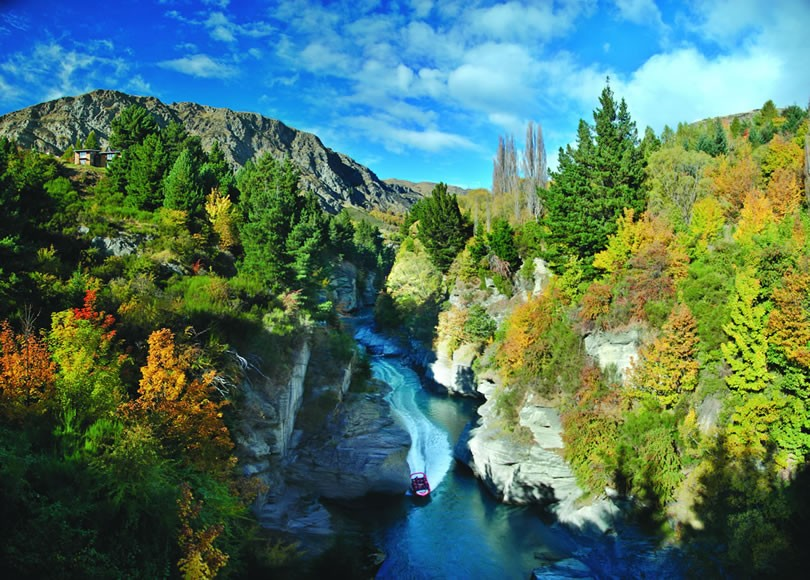 NEW ZEALAND- Shotover Jet_Queenstown