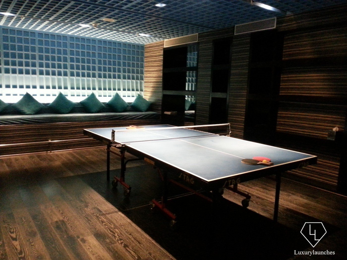 Table Tennis at the Entertainment Centre