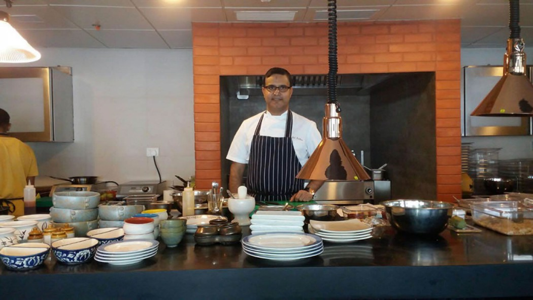 Chef Atul Kochhar at NRI