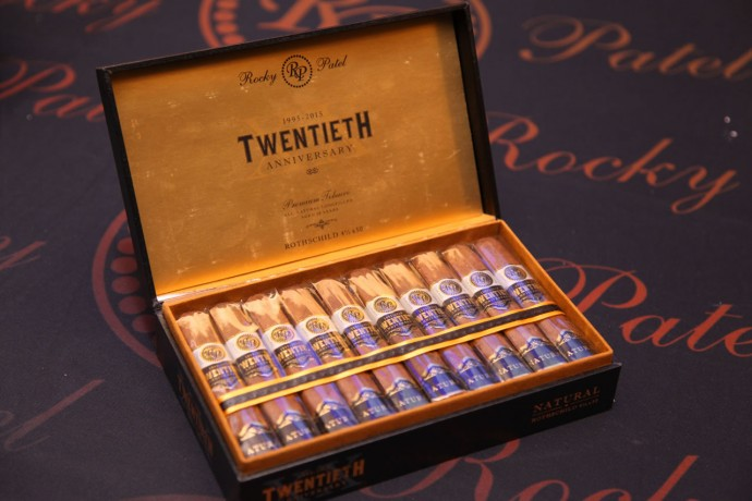Rocky Patel 20th Anniversary Cigar launched in India (box)