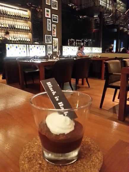 Black Beer Chocolate Pudding
