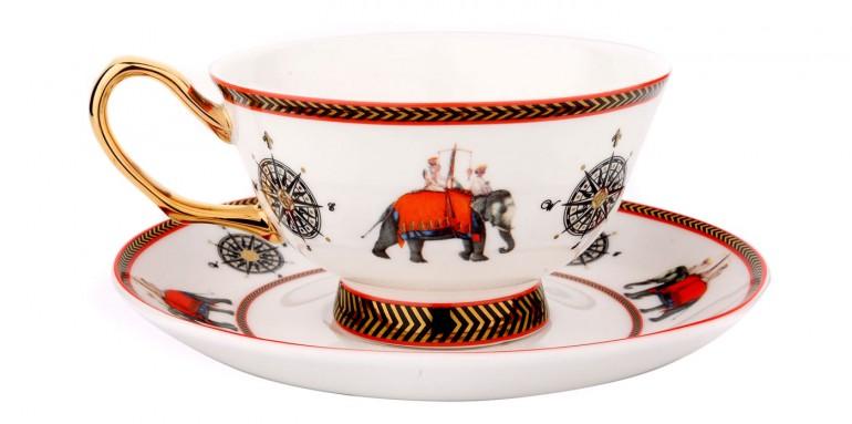Casa Pop - Company Raj Cup and Saucer (2)