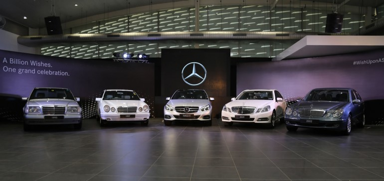 Celebrating 20 years of E class in India_2